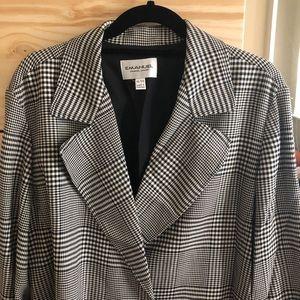 Oversized vintage blazer